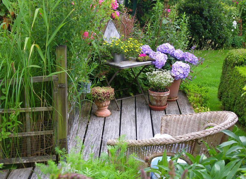 Gartenlust im Sauerland - Bilder und Fotos Gartengestaltung - schone garten mit teich