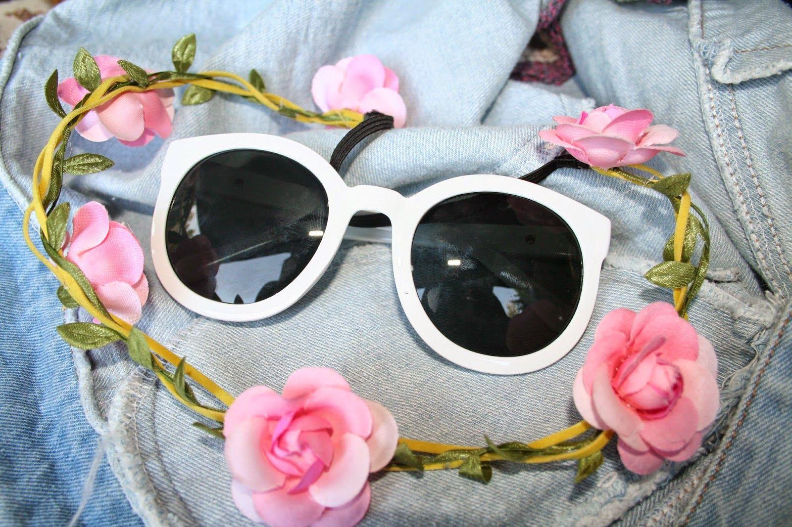 Flower Hair Garland #choies #flower #hair #fashion