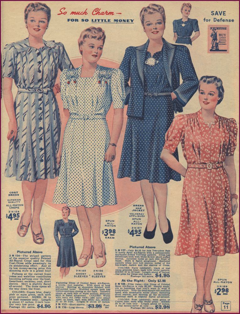 d304327f670 1940s Plus Size Fashion  Style Advice from 1940s to Today ...