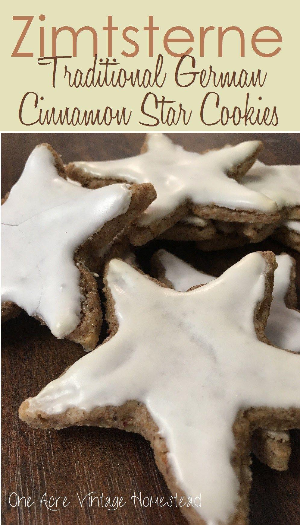 Zimtsterne German Cinnamon Star Cookie