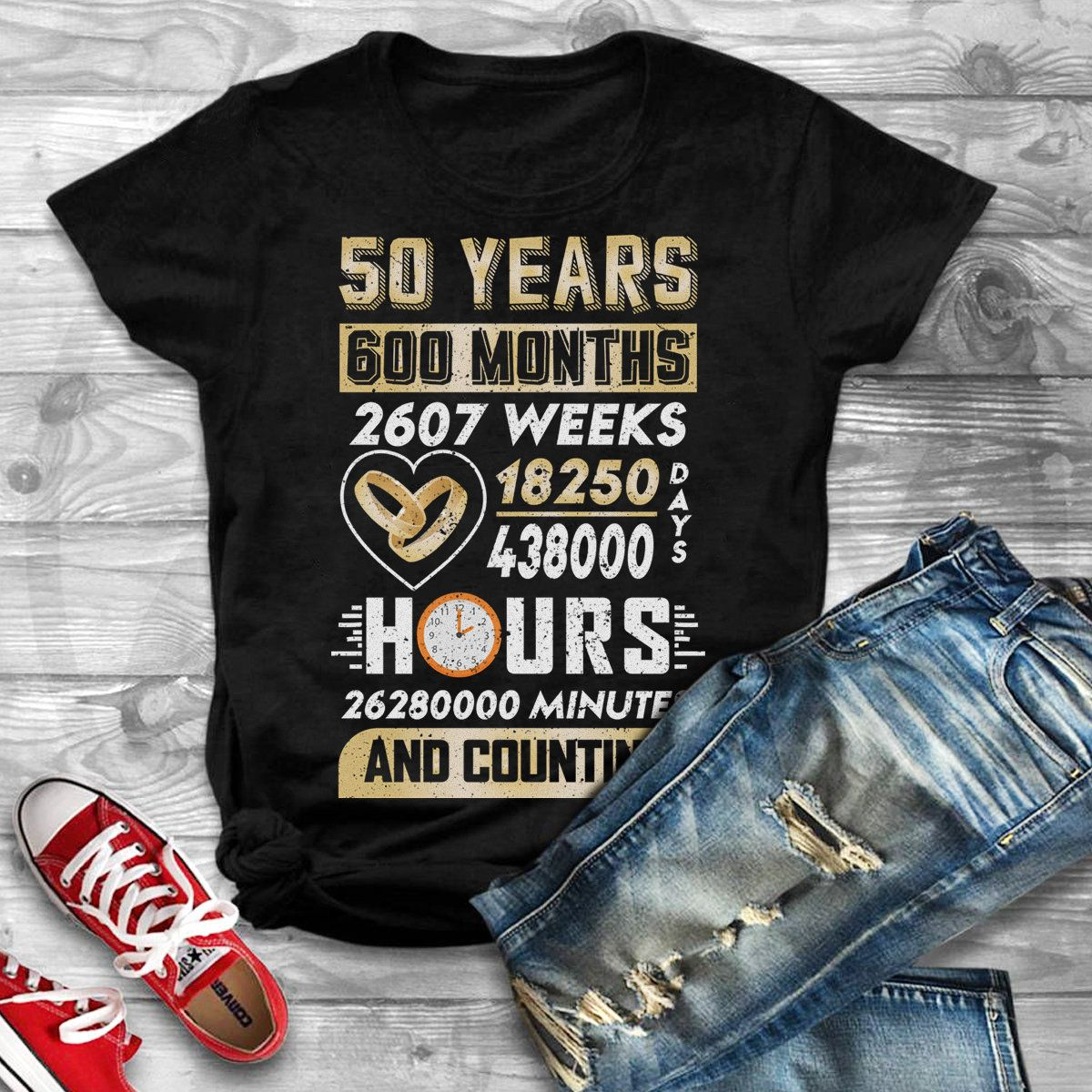 50th wedding anniversary shirts50th anniversary gifts for