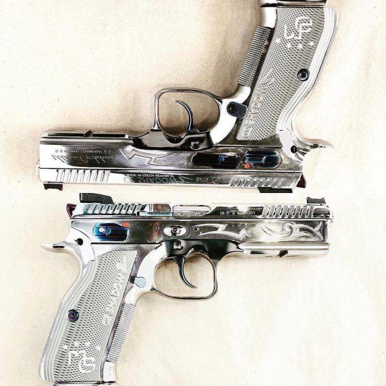 CZ Shadow 2 - Maria Gushchina Limited Edition - The Firearm