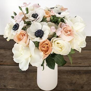 Sie sind ein Pfirsich Valentinstag Blumenlieferung – 1 Blumenstrauß