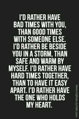 So true, I miss you.