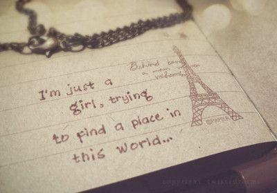 pretty sure Paris is my place