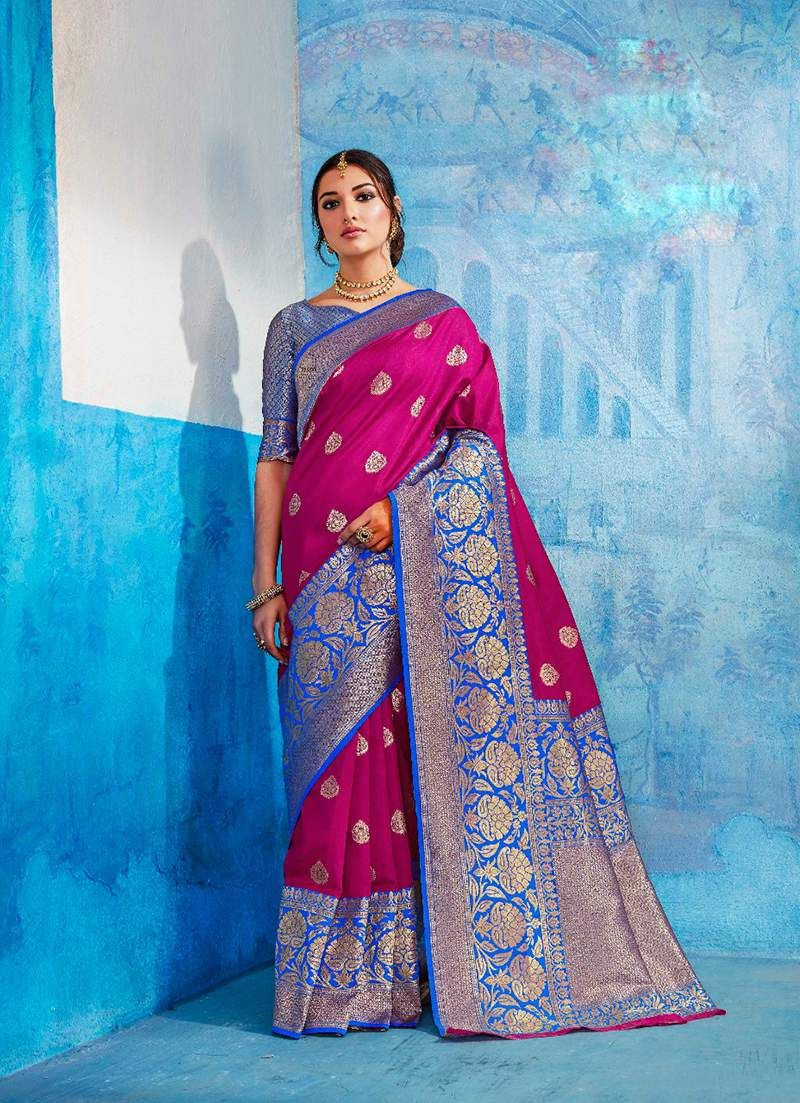 3799c944f2 Surat Wholesale supplier for rajtex kalawati silk saree catalog ...