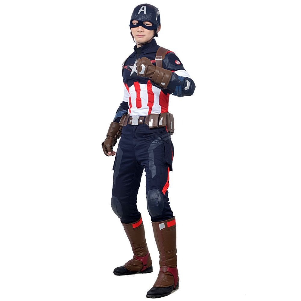 >> Click to Buy << Avengers Age of Ultron  Captain America Cosplay Costume Halloween costume Adult men boy cool outfits Captain America Cosplay #Affiliate