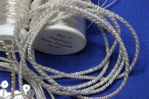 Frieze Bullion Combination Silver Thread Read the complete article on EcclesiasticalSewing.Wordpress.com