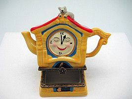 Children's Jewelry Boxes Hickory Dickory Clock