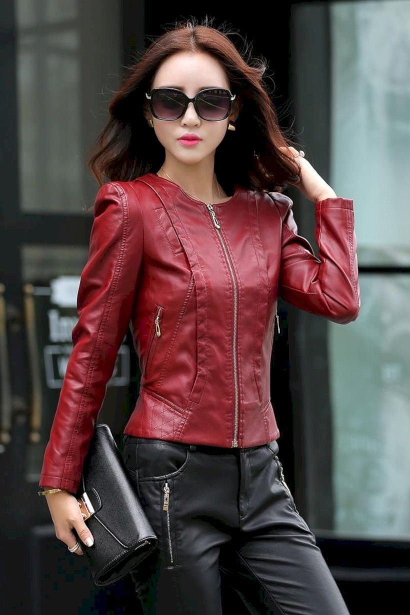 stunning 32 best leather jacket for cute ladies http://inspinre