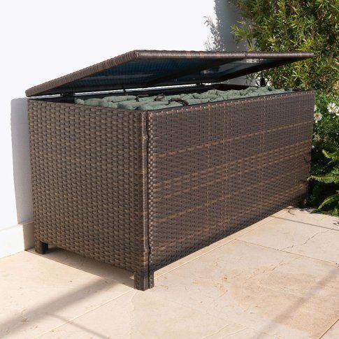 Kissenbox Kunstrattan - hide the outdoor stuff !