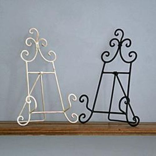new vintage style metal recipe cook book stand holder cream or black in home u0026 - Recipe Book Holder