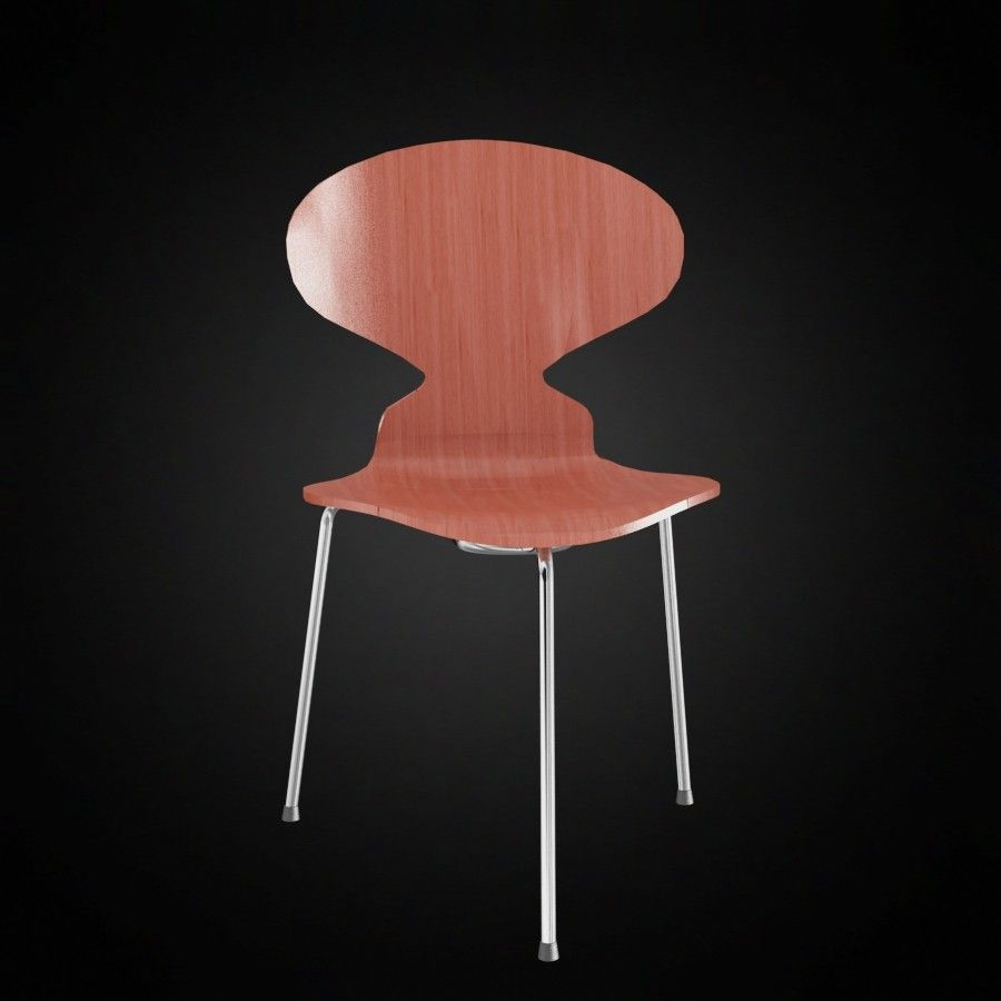 ...the ant chair designed by Arne Jacobsen in 1952...