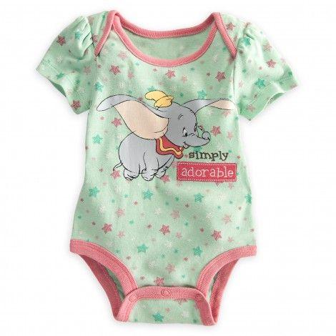 a60a2ef61 Dumbo Disney Cuddly Bodysuit for Baby | Disney Baby | Disney baby ...