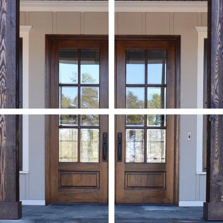 Solid Wood Front Doors Mdf Doors 24 Inch Pantry Door In 2020 French Doors Exterior Doors For Sale French Doors Interior
