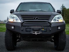 Metaltech MT Bumper for Lexus GX470 winch capable with