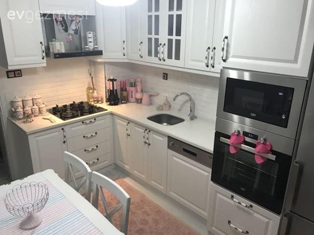 Beyaz Mutfak Dolapları, 1000+ Beyaz Mutfak Modeli – 2