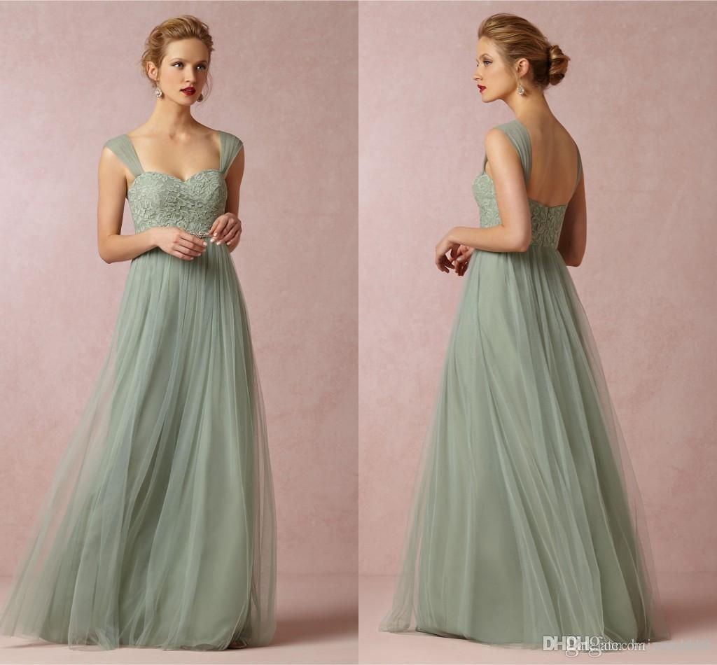 Bridesmaid dresses 2015 hot cheap cap sleeve tulle lace sashes cheap bridesmaid dresses buy quality long bridesmaid dress directly from china sage green suppliers sage green long bridesmaid dresses a line cap sleeves ombrellifo Gallery