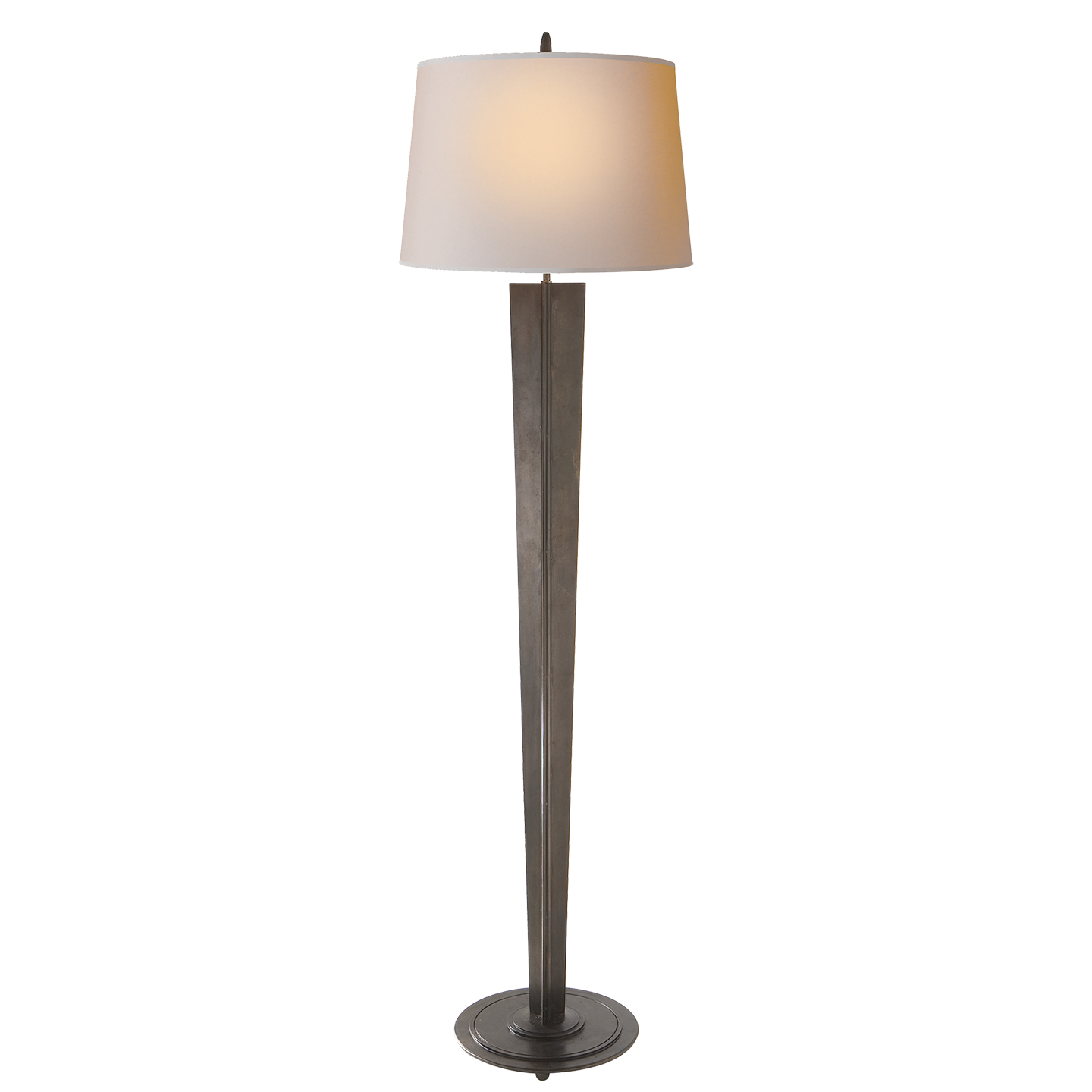 Paper Shade Floor Lamp Endearing Aged Iron With Natural Paper Shade  Pieces For My Home Review