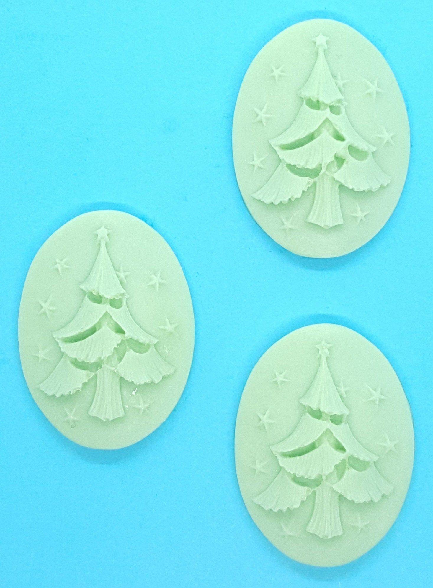 3x Weihnachten Tannenbaum Seife Weihnachtsbaum Gast Geschenk Idee Nikolaus Christkind Geburtstag Kind Badezimmer Bad Deko Tanne Nadel Baum Personalized Items