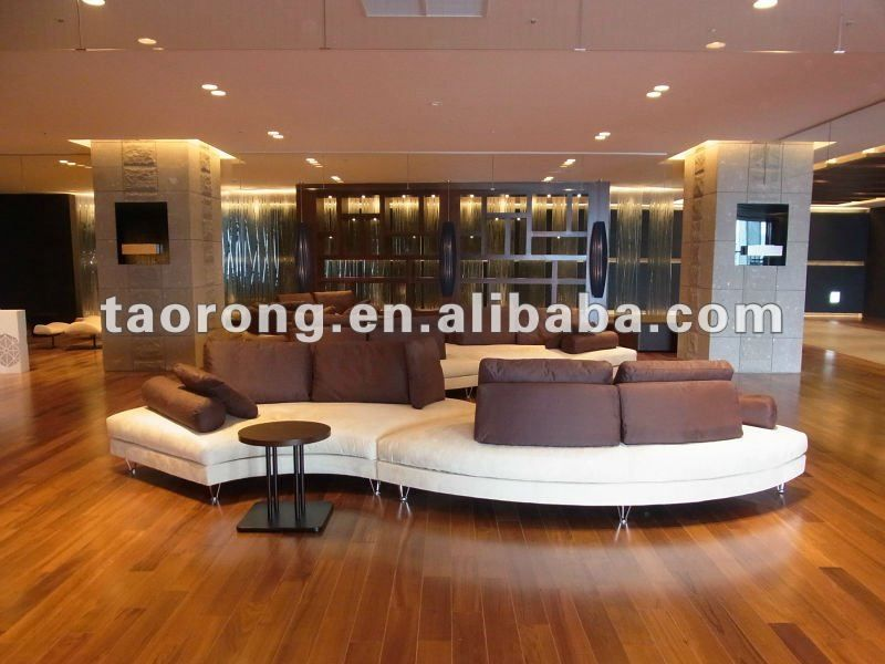 Images Of Contemporary Hotel Lobby Furniture Corner L Shape Modern Strip Fabric Sofa So 282