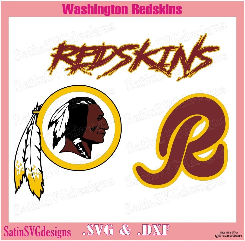 Washington Redskins Design Set SVG Files, NFL Football