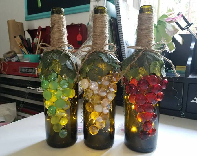 Purple, grape decor,grape bottle,purple bottle,purple grapes,wine ...