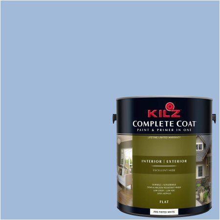 Kilz Complete Coat Interior/Exterior Paint & Primer in One #RC170-01 Delicate Blue