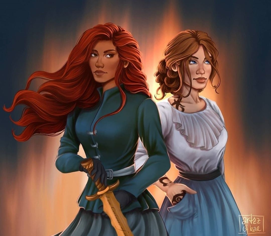 Cordelia And Lucie Shadowhunters Cassandra Clare Shadowhunters The Mortal Instruments