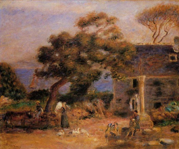 Pierre Auguste Renoir (1841-1919) - View of Treboul - 1895 - Private Collection