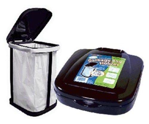 Rv Folding Trash Can Motorhome Pop Up Trash Can Black Garbage Bag Holder Garbage Bag Garbage Bags Storage