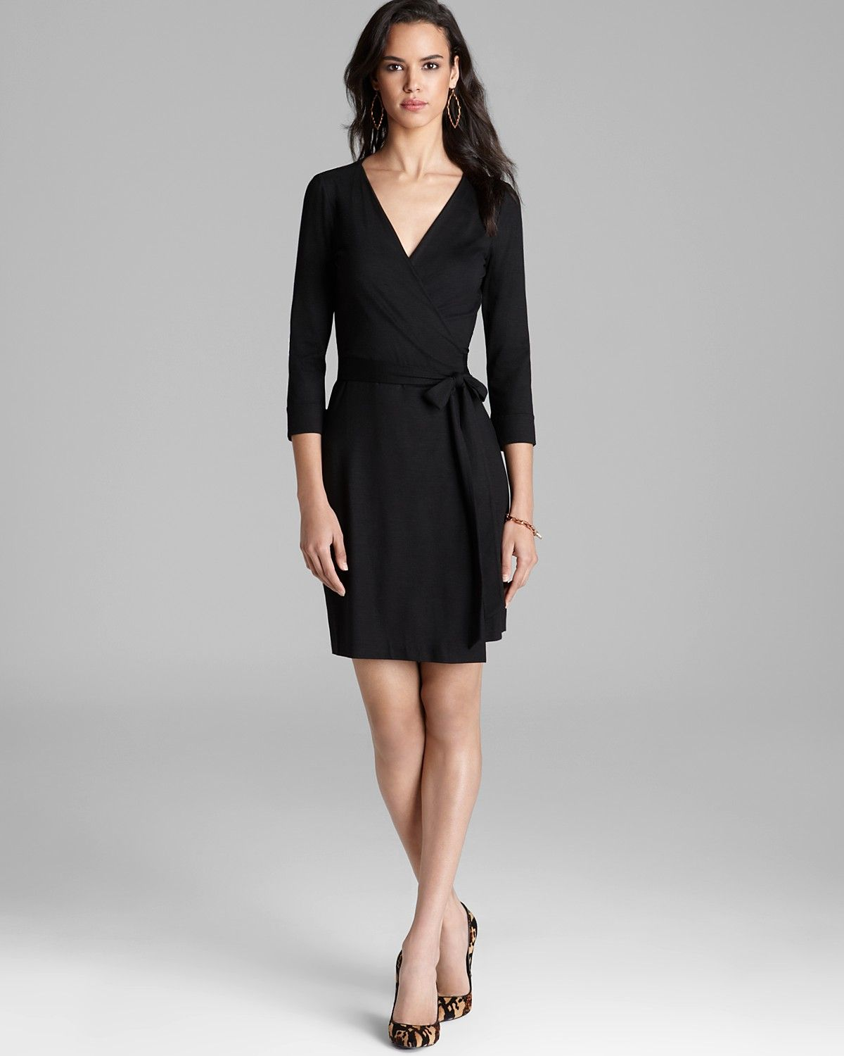 DIANE von FURSTENBERG Wrap Dress - Julian Mini | Bloomingdale's