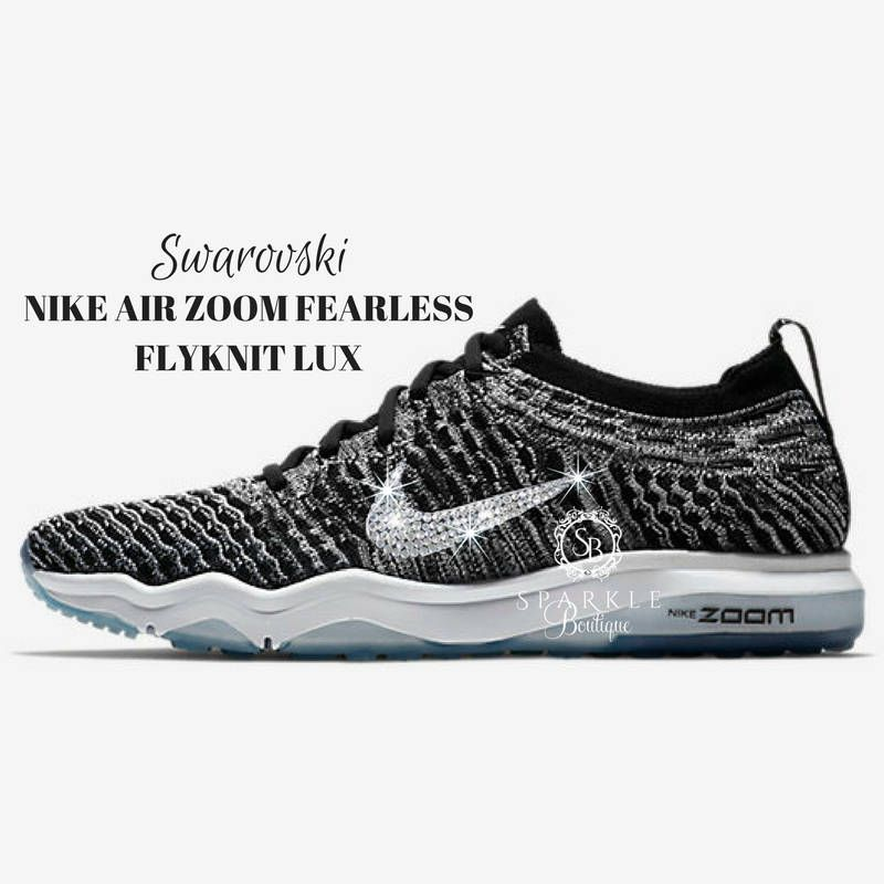 66dca2694057a ... italy swarovski nike nike air zoom fearless lux bedazzled bling nike  black all sizes by sparkleboutique2u discount roshe ...