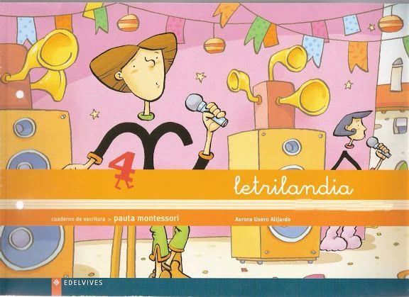 Recursos Didácticos Para Imprimir Ver Leer Letrilandia Cuaderno De Escritura 4 Pauta Montessori Lectoescritura Ejercicios De Escritura