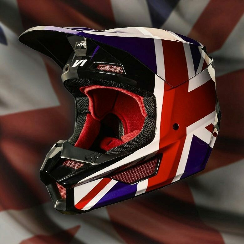 Fox Racing V1 Regl Special Edition Helmet
