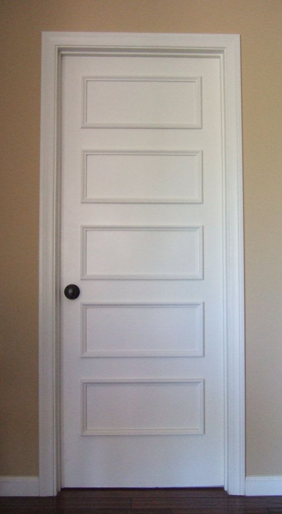 Removable Five Panel Retro Door Moulding Kit~ Get The Custom, High End Look