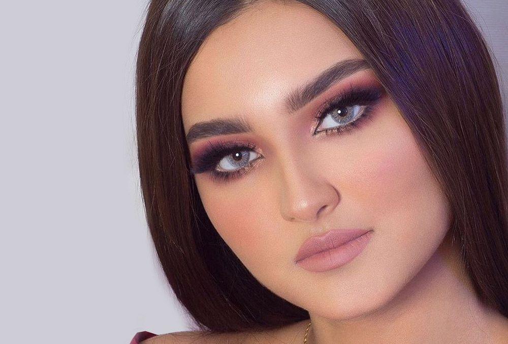مكياج سموكي وردي ناعم للخطوبة بتوقيت بيروت اخبار لبنان و العالم In 2020 Hair Styler Makeup Hair