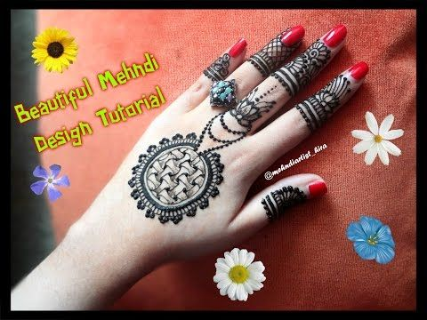 Apply Mehndi Hands : How to apply new latest easy simple henna mehndi designs for hands