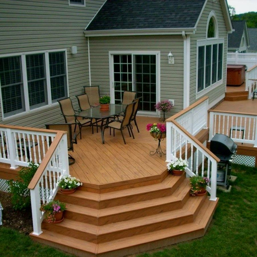 Landscape Ideas For Your Home Wooden Deck Designs Deck Design Building A Deck
