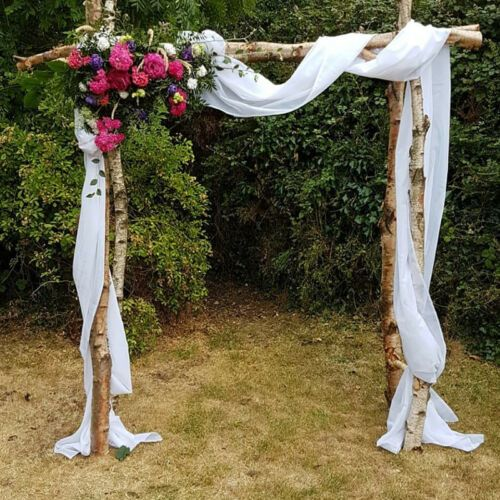 Oak Arbor Grille Pa: Details About Wedding Arch Draping Fabric Voile Arbor