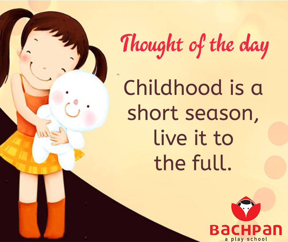 Bachpan Thought Of The Day Thoughts Thoughtsandprayers Thoughtoftheday Thursdaythoughts Bachpan Bachp Happy Children S Day Child Day Thought Of The Day
