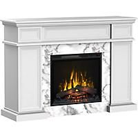Canadian Tire Offers Marseille Free Standing Electric Fireplace With Built In Storage 700 Fireplace Built Ins Free Standing Electric Fireplace Fireplace