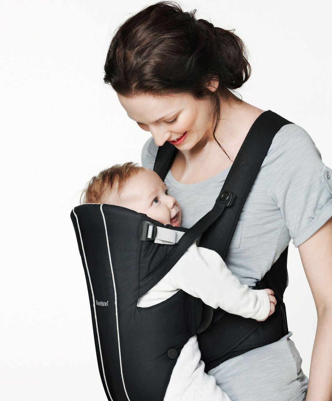 Baby Bjorn Active Carrier Black Silver Baby Bjorn Mamas