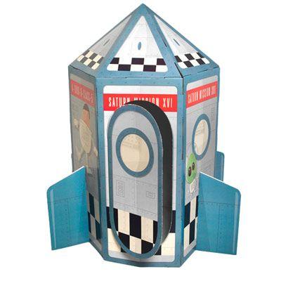 3990eur Spielhaus Rakete Für Kinder Aus Pappe Play House
