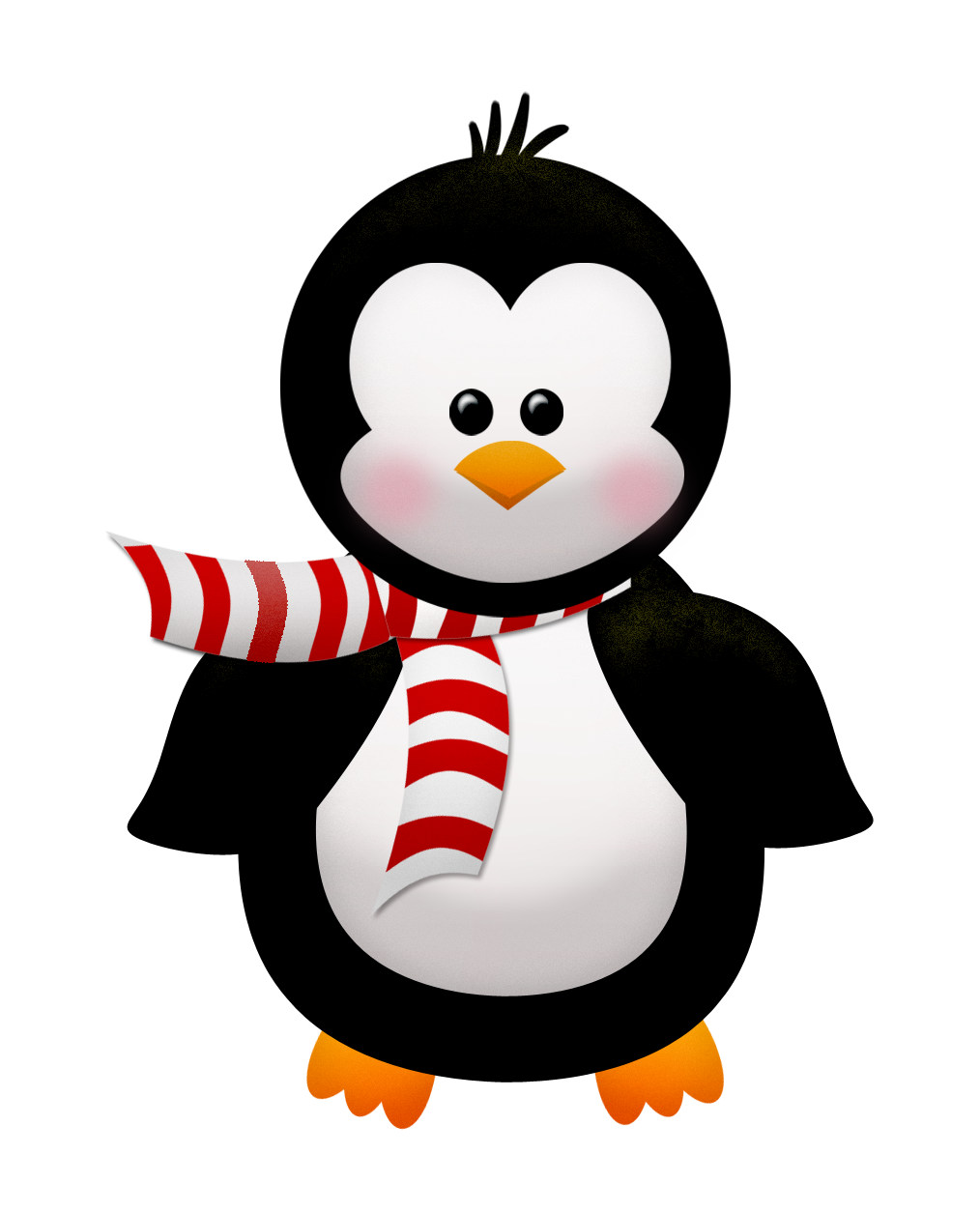 Inverno Outono Pinguino Navideño Christmas Clipart Clip Art Y
