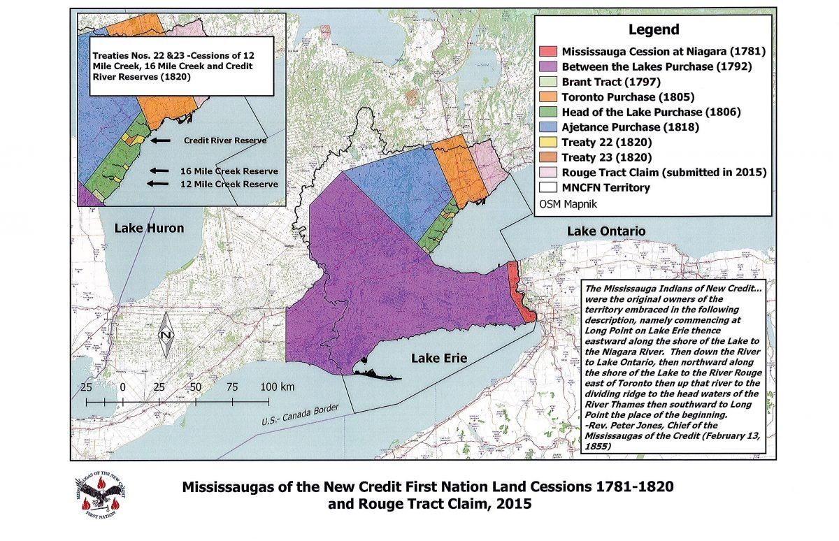 Mississaugas of the New Credit First Nation First
