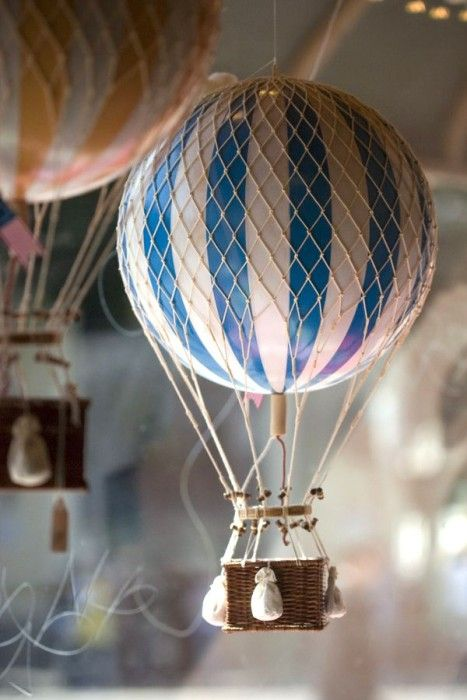 Diy mini hot air balloon decor henry pinterest