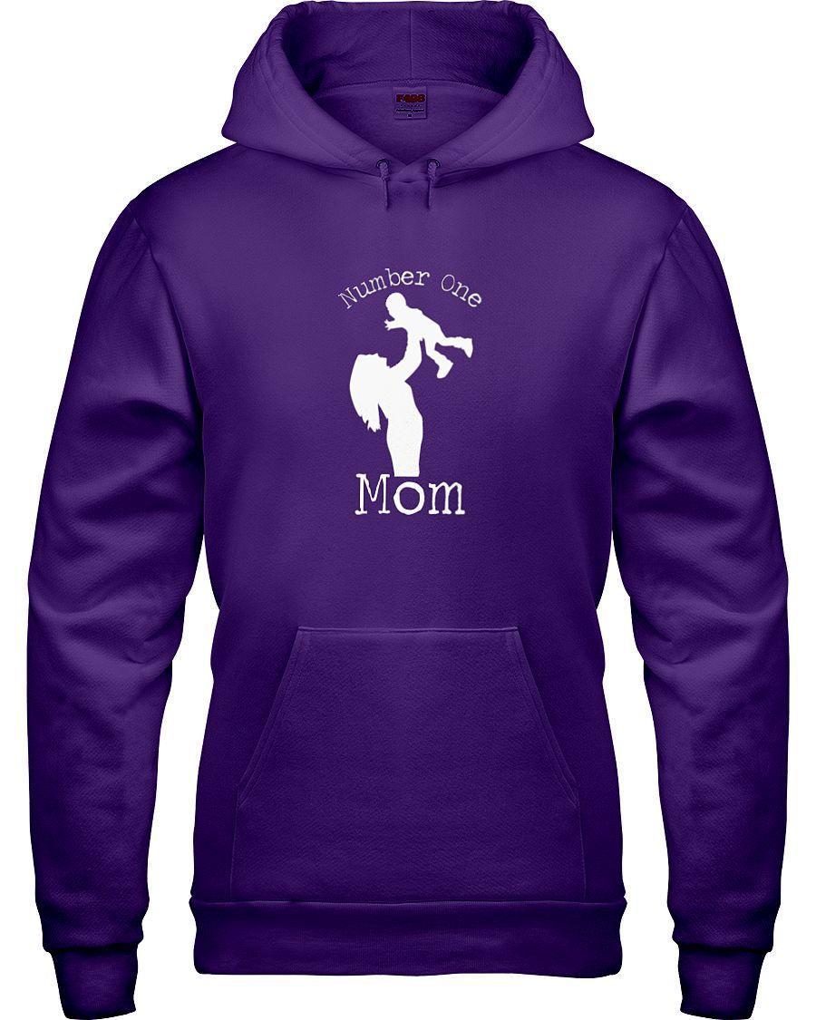 Number One Mom Hoodie