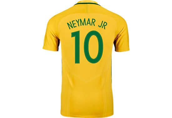 cde6ce644 2016/17 Nike Neymar Jr Brazil Home Jersey. Buy yours today at SoccerPro.