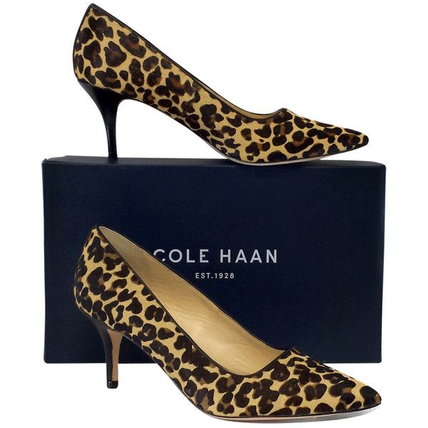 Pre-owned Cole Haan Bradshaw Leopard